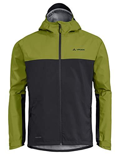 VAUDE Herren Jacke Men's Moab Rain Jacket, grün (Avocado), L, 40848