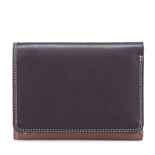 portafoglio in pelle -MYWALIT- Medium tri-fold wallet - 106-128 - mocha