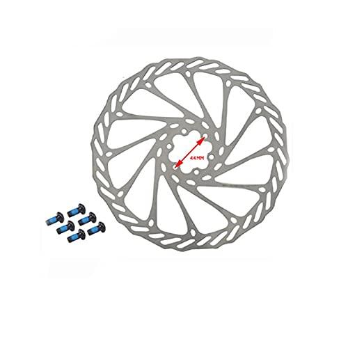 SZTUCCE Rotor de Freno de Disco de aleación de Bicicleta MTB 160 180 mm Calibradores Clip Rotor Set Frontal Trasero Mountain Bicycle Parts (Color : G3 160MM 2PC)