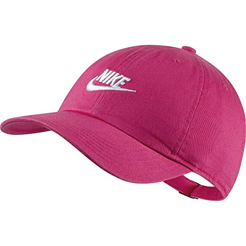 Nike Y NK H86 Cap Futura Unisex Kinder Kappe Rosa(Vivid PINK/White)