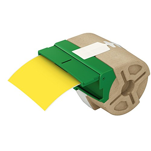 Leitz 70160015 Endlos-Etikettenkassette Icon, permanent klebend, Plastik, 88 mm x 10 m, gelb