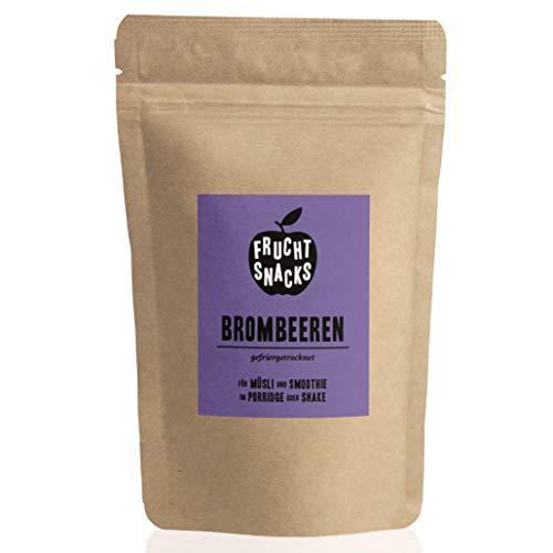 Brombeeren gefriergetrocknet 100g I Ganze getrocknete Brombeeren ohne Zucker I 100% Frucht, voller Geschmack