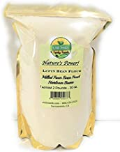 Lupin Bean Flour Milled From Fresh Heirloom Beans 30 oz. or Almost 2 Pounds