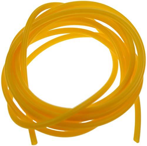 Piebert 2 m 2 x 4,5 mm tubo in silicone (interno 2 mm, esterno 4,5 mm) giallo senza BPA
