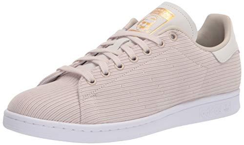 adidas Originals Stan Smith, Zapatillas Deportivas. Hombre, marrón, Blanco y Dorado metálico, 44 EU