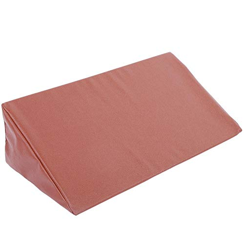 Bed Wedge Pillow Leg Elevation Back Lumbar Support Cushions Waterproof PU Leather Cover, Rest or Elevation, Best for Sleeping, Reading-Helps Provide Relief from Acid Reflux, Snoring, Post Surgery