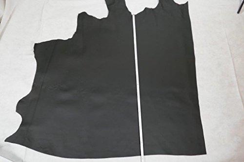 U - MP Ulbrich Meisterprodukte 1 Lederhaut, ca. 1 qm, Lederstück, Rindleder schwarz,