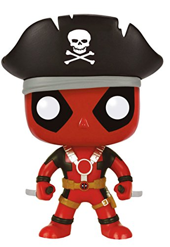 Funko Pop Deadpool Pirata (Deadpool 113) Funko Pop Deadpool
