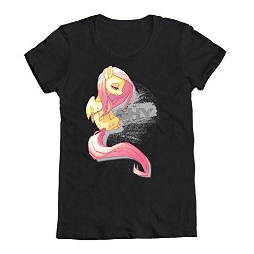 getDigital Geek Shirt Too Shy : Tailliert Größe L