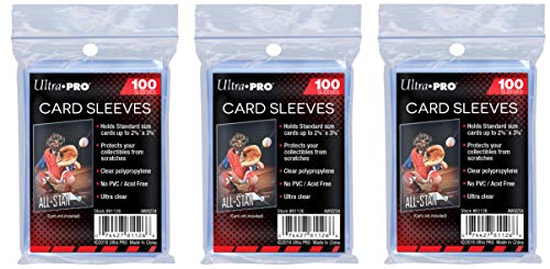 Ultra Pro Clear Soft Card Sleeves for Standard 2.5