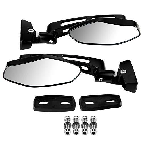 Espejos laterales de motocicleta KIMISS 2 uds, espejos laterales de espejo retrovisor de carreras modificados para motocicleta para CBR 600 F3 F4i 900 929 954 1000 RR