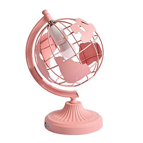 Ruixinbc Tafellamp, modern bedlampje met smeedijzer, bol, decoratie voor kooi met ballen, lampenkap, tafellamp voor woonkamer, slaapkamer, hotel