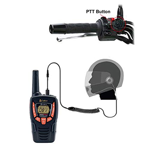 Pama HM-100 PTT/VOX Closed Face Motorbike Motorcycle Intercom Headset +...