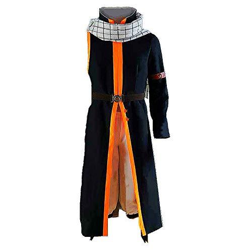 IUTOYYE Iutoye 2020 - Disfraz de Natsu para Disfraz de Natsu con dragón, Carnaval, Navidad, Halloween, para Hombre, Mujer, niño y niña Natsu Dragonil S