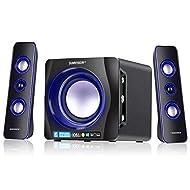 Sumvision Ncube Pro 2 LED Bluetooth 5.0 Enhanced Data Rate Designer Stereo Multimedia Wireless Speak...