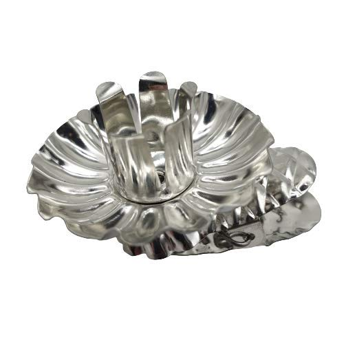 modern 20 Stück Baumkerzenhalter Kerzenhalter Weihnachtsbaum Christbaum kerzenhalter mit Clip in Silber