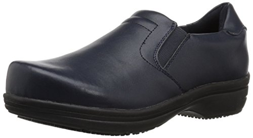 Easy Works womens Bind Health Care Professional Shoe, Navy, 8.5 US