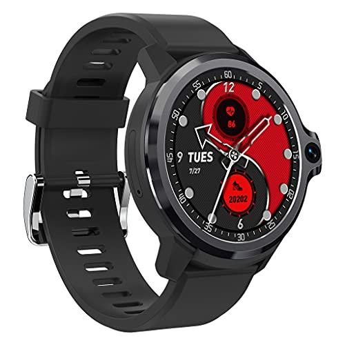 Reloj inteligente KunmniZ, adquisición precisa de datos deportivos, compatible con Kospet Prime S Pantalla envolvente de 1,6 pulgadas, monitor de salud con cámara dual de mayor visibilidad y accesorio