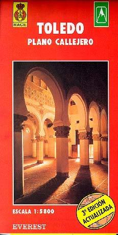 Toledo. Plano callejero: Plano callejero. Centro monumental (Planos callejeros / serie roja)