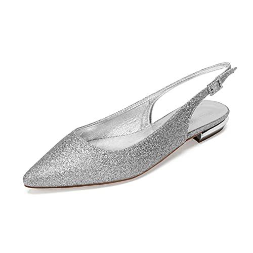 MNVOA Zapatos De Novia Zapatos De Boda De Diamantes De ImitacióN De...