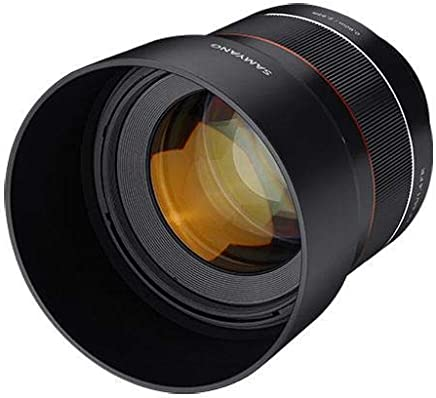 Samyang F1.4 - Lente sellada para Sony E-Mount (85 mm)