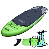 Driftsun Orka 12 Foot Extra Wide Multi Person Inflatable Paddle Board Stand Up SUP Package, Room for...