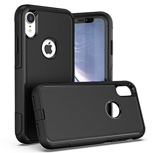 Krichit Pioneer Series Case for iPhone XR Pioneer Case Heavy Duty Case iPhone XR Cases (Pioneer Black)