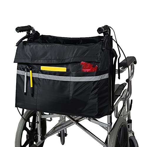 Bolsa De Almacenamiento para Silla De Ruedas, Accesorio De Almacenamiento para Sillas De Ruedas, Resistente Al Agua, para Hombres, Mujeres, Discapacitados, Ancianos