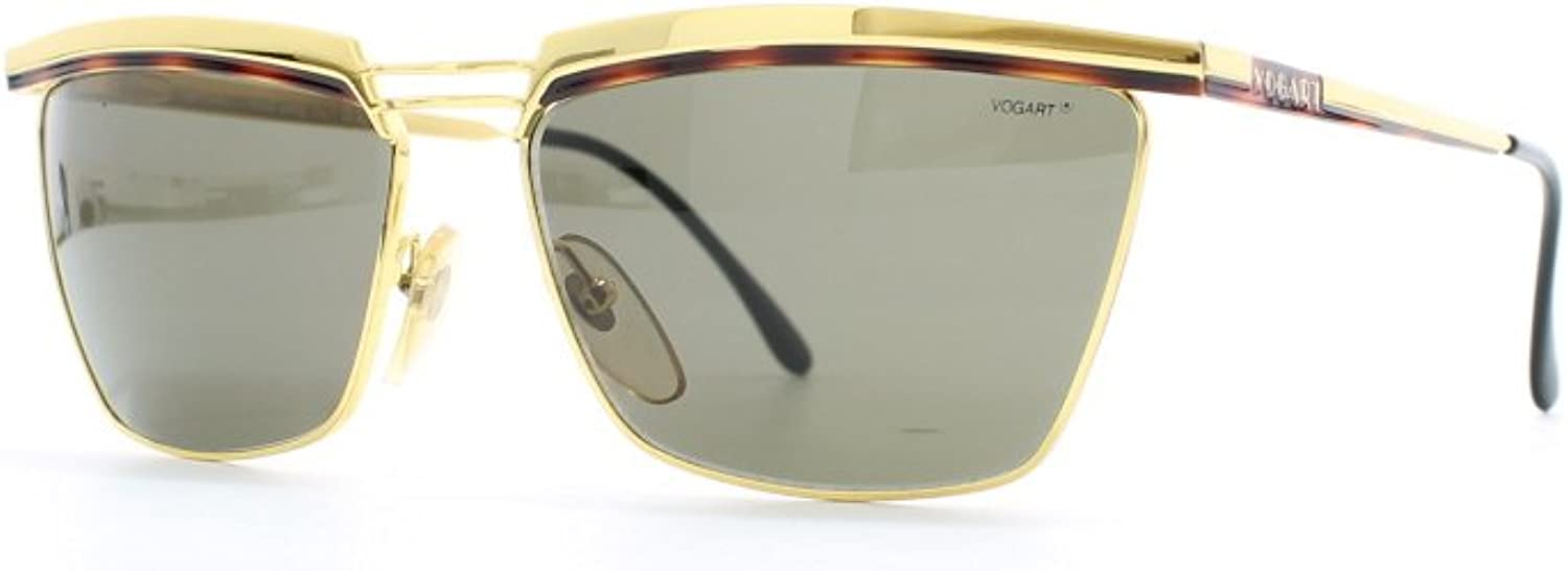 Vogart 3054 30 gold Certified Vintage Square Sunglasses For Womens