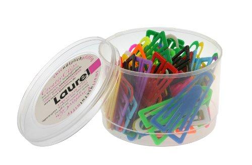 Laurel Plastikklips 60 mm antimagnetisch 75 Stück farblich sortiert