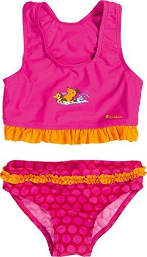 Playshoes Mädchen UV-Schutz Bikini DIE Maus Punkte Zweiteiler, Rosa (original 900), 86/92