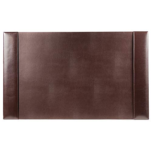 Dacasso Bonded Leather Desk pad, 30 x 18, Brown