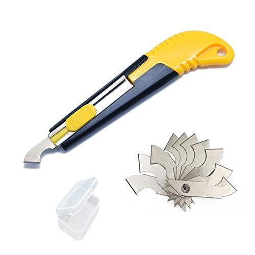YouU 1 Pc Acryl Cutter und 10 Pcs Blade Set, Mehrzweckschneider mit Schneidklinge