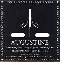 AUGUSTINE BLACK SET×12セット オーガスチンクラシックギター弦 ブラック