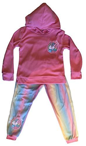 E-Fashion Conjunto de Pants de Unicornio, cómodo y térmico para niña (8 años)