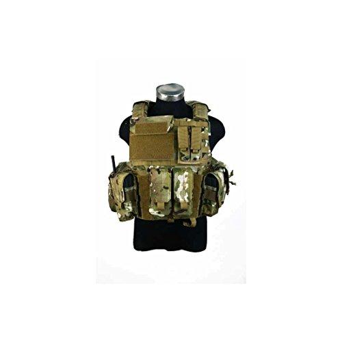 PANTAC - VT-C500-MC-M Releaseable Molle Armor Land Version, M, MC