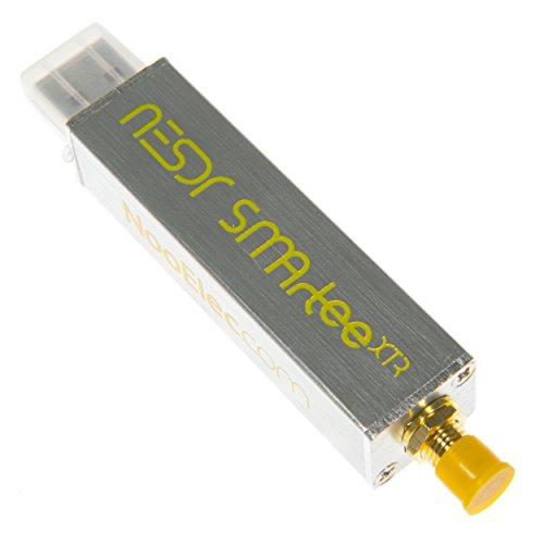 NESDR SMArTee XTR SDR - Premium RTL-SDR w/Extended Tuning Range, Aluminum Enclosure, Bias Tee, 0.5PPM TCXO, SMA Input. RTL2832U