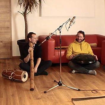 Meditation mit Handpan, Piano und Didgeridoo (Rammelmeier feat. Monzer & Schmidtner)