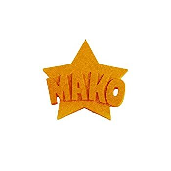 Mtxc Kill la Kill Cosplay Mako Mankanshoku Fingered Gloves Orange