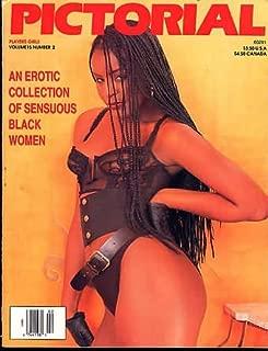 Players Girls Pictorial Vol. 15 # 2 1994 Magazine Ebony Women Champagne