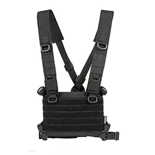 OneTigris ROC Chest Rig Tactical Modular Panel with Removable X
