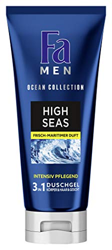 FA MEN Duschschaum & Körperrasur Ocean Collection High Seas, 1er Pack (1 x 200 ml)