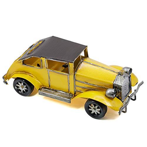 Calyvina Metall Antike Vintage Auto Modell Dekoration Ornamente Handgefertigte Sammlungen Sammlerfahrzeug Spielzeug, Fotografie Requisiten