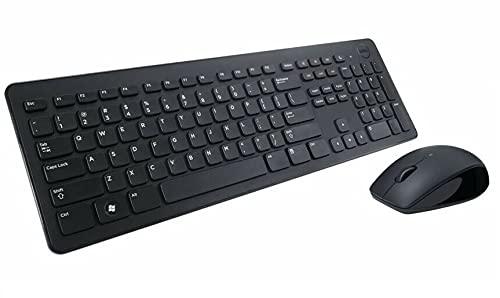 Dell KM636, Wireless, Tastatur und Maus Set, UK (QWERTY), schwarz