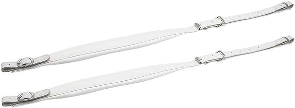 RuleaxAsi Um par de cintas de acordeão ajustável couro sintético ombro por 16-120 Baixo Acordeões