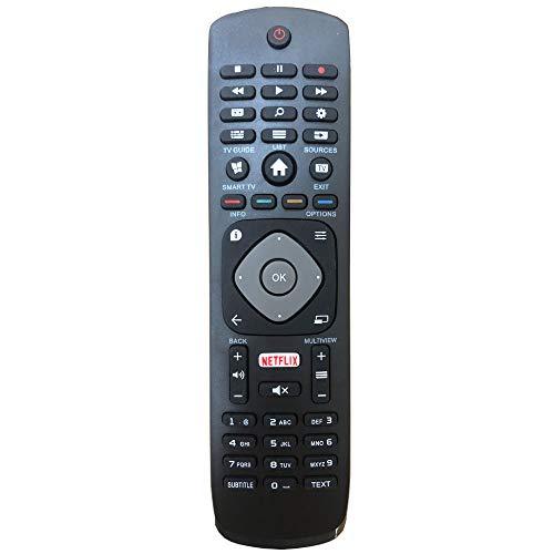 Nuevo Reemplazo Control Remoto para Philips 4K UHD HDR Ambilight Smart TV 49PUS6262 50PUS6262 55PUS6262 65PUS6262 43PUS6262