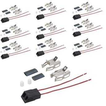 (10 Pack) Aftermarket Replacement for Hotpoint Stove Heating Element / Surface Burner Receptacle Kit # WB17X5113