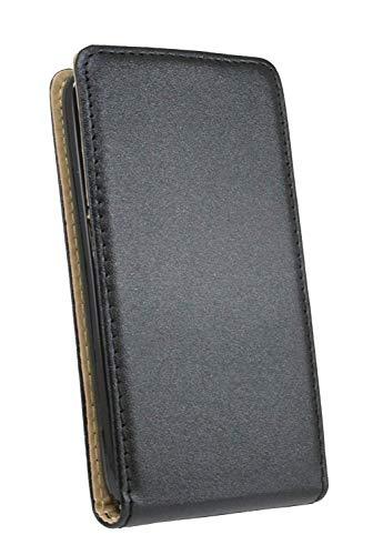 ENERGMiX Klapptasche Schutztasche kompatibel mit Huawei Y360 in Schwarz Tasche Hülle - 6