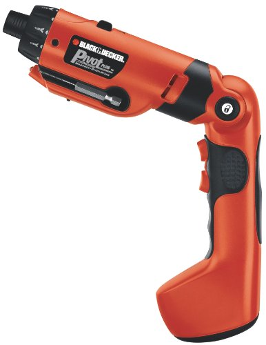 BLACK+DECKER 6V MAX Cordless Screwdriver (PD600)