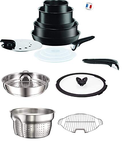 Tefal Ingenio Performance Black 15 Piece Induction Compatible Pan Set